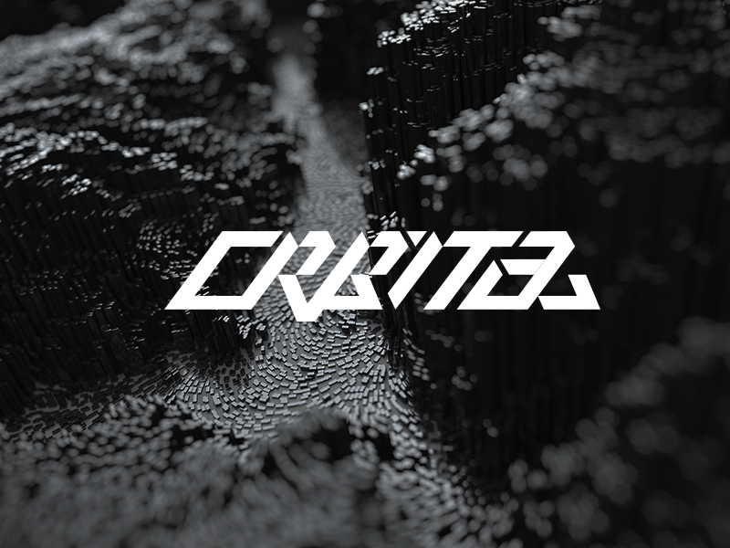 Orbital Font Experiment calligraphy lettering experiment font orbital