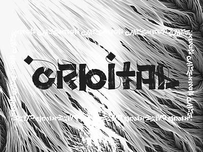Orbital Font Experiment experiment custom calligraphy font orbital calligraphy