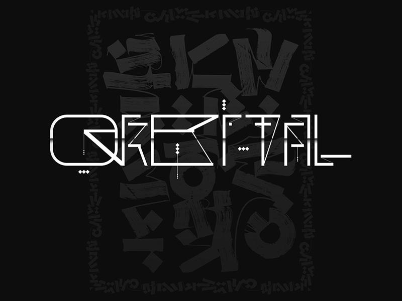 Orbital Font Experiment johnnaked modern calligraphy custom font calligraphy font calligraphy and lettering artist calligraphy experiment orbital