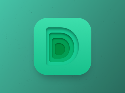 D - Days of Type 36daysoftype app icon days of type deep d