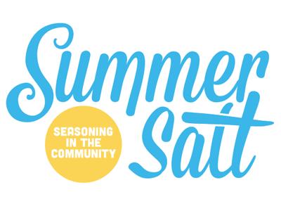 Summer type logo