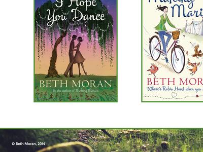 Beth Moran web site perch green white
