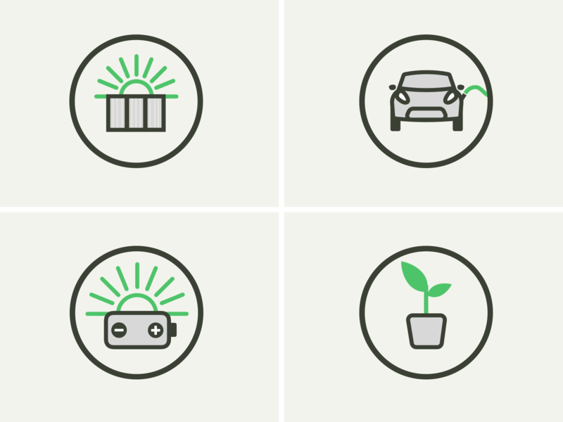 News Icons icon illustration ui design web site