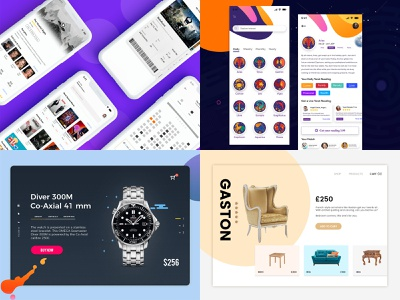 Best of 2018 movie ticket app horoscope app android app ios app mobile app animation web silder
