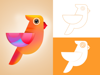 bird logo Illustration illustration bird logo logo bird logo illustration