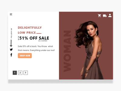 Shopping  Website Slider amination slider shopping slider web ecommerce website shopping