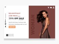 Shopping  Website Slider