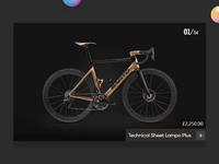 Bicycle webslider