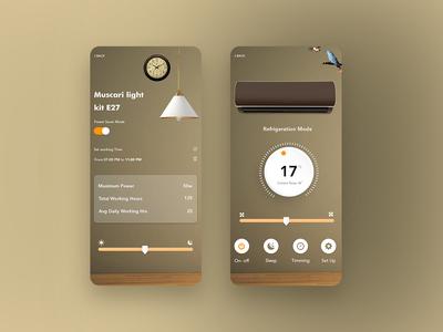 Smart Home App smart app ui android smart home app android app iphone smart home app iphone app iot app smart home app smarthome
