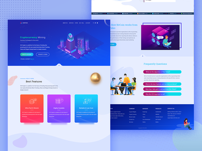 cryptocurrency landing page crypto blockchain blockchain landing page bitcoin landing page website landing page cryptocurrency cryptocurrency landing page