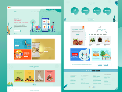 Grocery website food website product website grocery web grocery website landing page shopping website ecommerce website grocery website