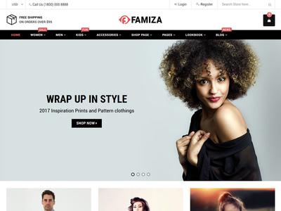 Famiza Shopify Theme