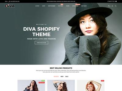 Diva Shopify Theme