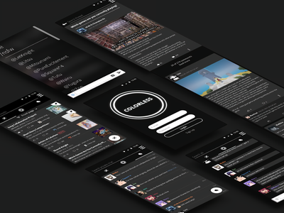 The Colorless mobile ux mobile ui mobile app design mobile app mobile