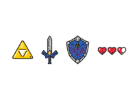 Legend of Zelda Icons