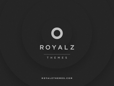 Royalz Themes creative reinvent tablet photography themes store templates web design minimal dark responsive