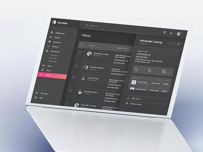 Brinhildr - UI Kit for Business
