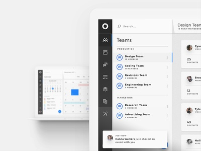 Cyane - Dashboard Web UI Kit