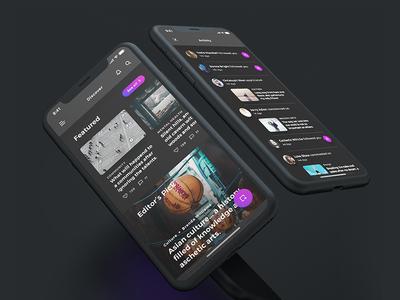 Lydia UI Kit - Dark Mode