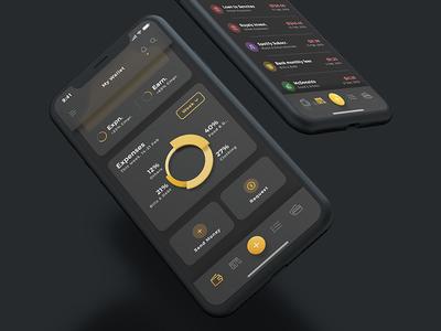 Aurelia UI Kit - Dark Mode