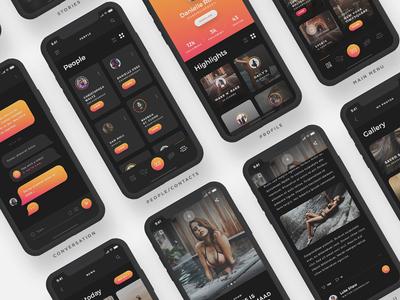 Arnelle UI Kit - Screens II