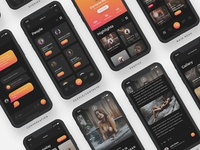 Arnelle UI Kit - Screens II