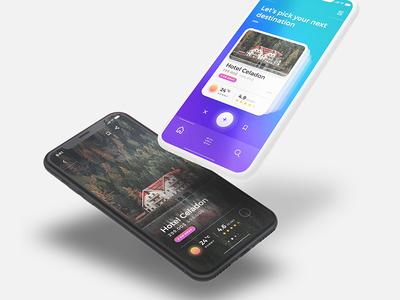 Sofia UI Kit - Traveling App Design
