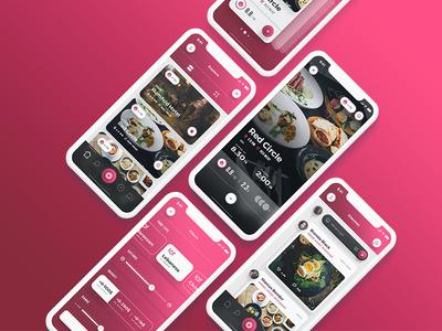Scarlett - iOS Restaurants & Food App UI Kit