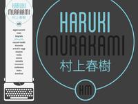 Haruki Murakami menu