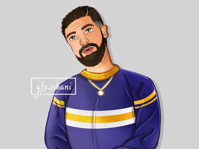 Illustration of Drake!!