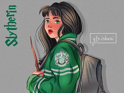 Slytherin girl!