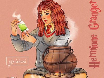 Hermione Granger Illustration