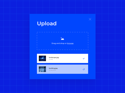 Daily UI 031 File Upload progress status product design library symbol stule guide ui details ui elements design challenge ux ui dailyui031 dailyui uploading loading drag and drop file upload image upload upload