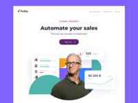 Online-course landing page