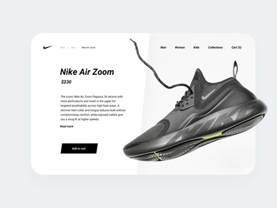 Daily UI 012 E-Commerce Shop web