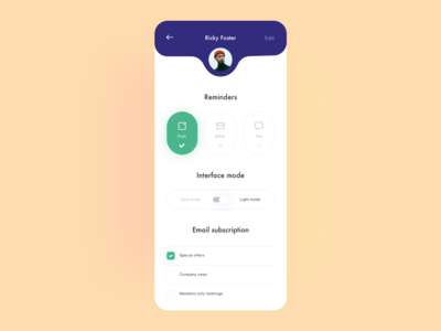 Daily UI 015 On/Off Switch