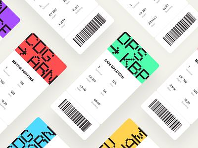 Daily UI 024 Boarding Pass app wallet mobile air lines travel trip destination air plane plane fly ticket boarding pass pass boarding design challenge ux ui dailyui024 dailyui
