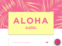 Aloha Dribble - First Shot