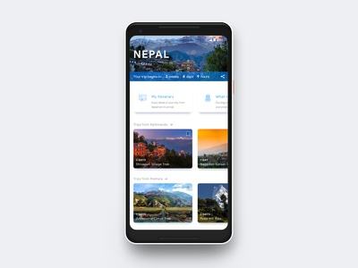 Daily UI #14 Countdown Timer design card cards nepal travel timer countdown ui daily dailyui