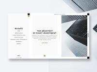 Web design study for Nichefg