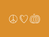 Peace Love & Pumpkins