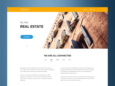 City24.lv Group Portfolio Webpage
