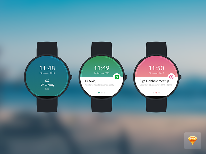 Moto 360 watch (Sketch 3 freebie) free download sketch watch moto 360 freebie android latvia riga