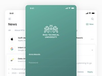 Riga Technical University iOS Application Redesign