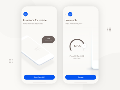 Insurance for Mobile Concept