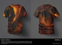 Dante's Inferno T-Shirt Design