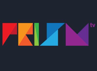 PRISM TV Branding and Logo logo brand identity