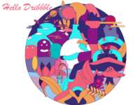 Helllo Dribbble Official
