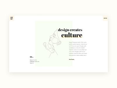 Suru banner typographic typo minimalist minimalism website ux style web trendy minimal typography clean interface design ui