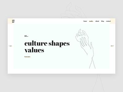 Banner concept minimalism web typographic minimalist minimalistic ux website minimal typography clean interface design ui
